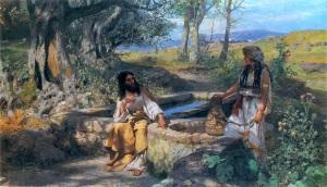 Christ_And_Samaritan_Woman_Henryk_Siemiradzki